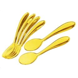 Guzzini - komplet 6 łyżeczek 14,5 cm - art  cafe - żółte - żółte