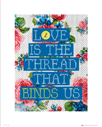 Love Binds Us - plakat premium