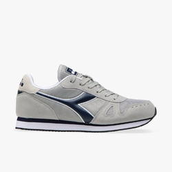 Sneakersy męskie diadora simple run - szary