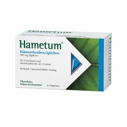 Hametum czopki na hemoroidy