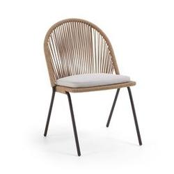 Krzesło ogrodowe cita 87x57 cm beżowe