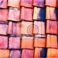 Fototapeta stare czerwone płytki