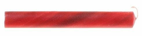 Świece marmurkowe z woskiem pszczelim 25, czerwone, Grimms