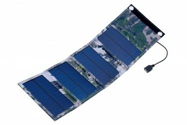 SUNEN PowerNeed - Wodoodporny panel solarny 6W kamuflaż