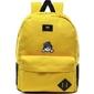 Plecak szkolny vans old skool iii - vn0a3i6rd2p yellow - custom sweet kitty