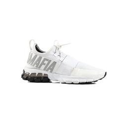 Buty treningowe damskie labellamafia sneakers white - biały