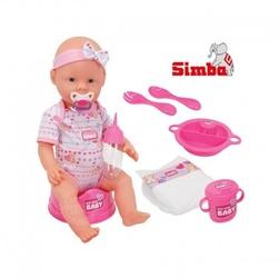 Simba new born baby lalka 43 cm bobas z akcesoriami