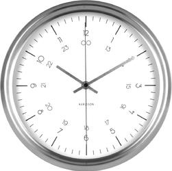 Zegar ścienny Nautical Karlsson biały KA5597WH