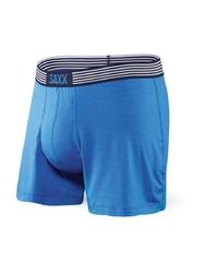 Bokserki męskie saxx ultra freea boxer fly pure blue - niebieski