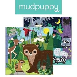 Puzzle magnetyczne noc i dzień w lesie, 4+, mudpuppy