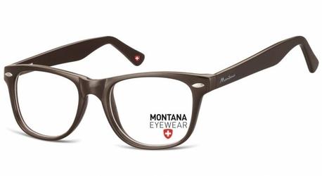 Oprawki optyczne korekcyjne nerdy montana ma61c brązowe