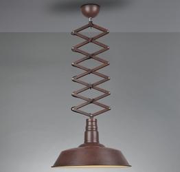 Industrialna lampa wisząca z regulacją wysokości detroit