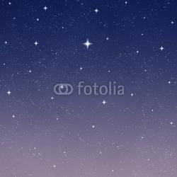 Obraz na płótnie canvas czteroczęściowy tetraptyk rozgwieżdżone nocne niebo