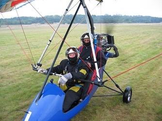 Lot motolotnią dla dwojga - toruń łysomice - 2x20 minut