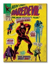 Marvel here comes daredevil - obraz na płótnie
