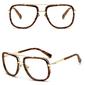 Okulary przeciwsłoneczne styl piaskowe - BRĄZOWE
