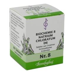 Biochemie 8 natrium chloratum d 6 tabl.