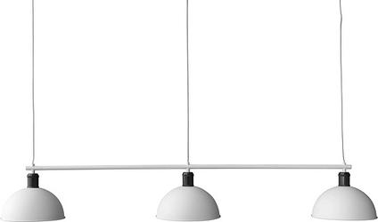 Lampa wisząca hubert potrójna biała
