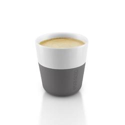 Eva solo - filiżanka do espresso 2 szt, - szara