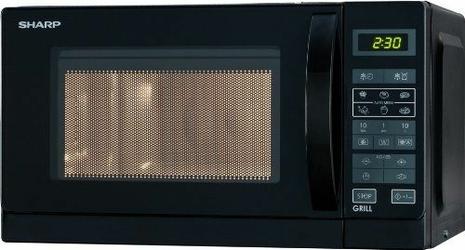Kuchenka mikrofalowa SHARP R-642BKW  20 l  2200 W  zabezpieczenie przed dziećmi