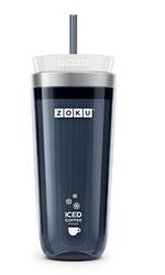 Kubek do mrożonej kawy lub herbaty Iced Coffee Maker grafitowy