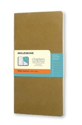 Notes Moleskine Chapters Journal M oliwkowy w linie