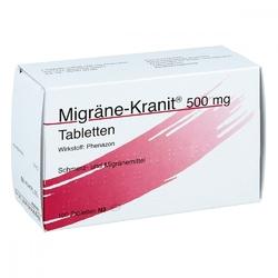 Migraene kranit 500 mg tabletten