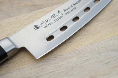 Nóż szefa kuchni air holes satake satoru 18cm 803-618