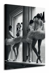 Time Life Ballerinas In Window - Obraz na płótnie
