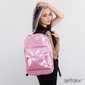 Plecak spiral glitter jelly pink