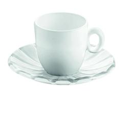 Guzzini - grace - kpl. 2 filiżanek espresso - biały