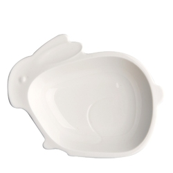 Półmisek  salaterka porcelanowa altom design wielkanoc zajączek 17,5 cm