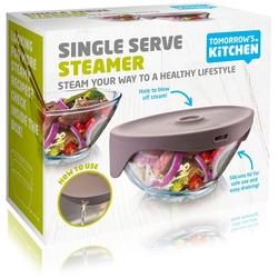 Misa do gotowania na parze w mikrofalówce tomorrows kitchen szara tk-29603606