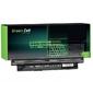 Green cell bateria do dell 3521 11,1v 4400mah
