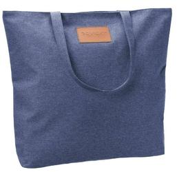 Torebka ekologiczna shopperka tekstylna a4 rovicky niebieska - niebieski