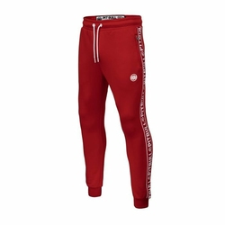 Spodnie Pit Bull West Coast Oldschool Track Pants Tape Logo - 329303450