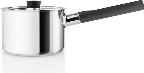 Rondel stalowy nordic kitchen z czarnymi uchwytami 2 l