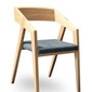 Szyszka design :: krzesło tapicerowane piko niebieskie
