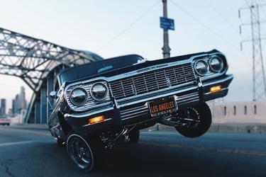 Fototapeta na ścianę luksusowy samochód drift fp 3689