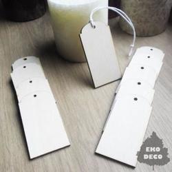 Drewniany tag 7x3,5 cm - 02