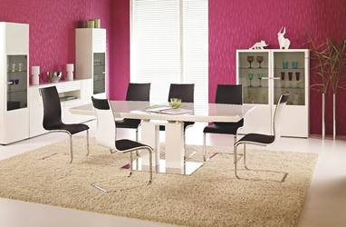 Stół rozkładany anton 180-220x110cm biały