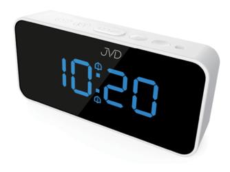 ZEGAR prądowy - budzik JVD SB 3212.2