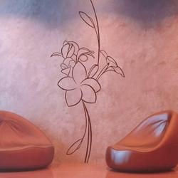 kwiaty 991 szablon malarski