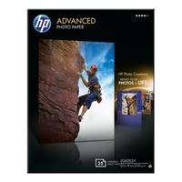 Papier fotograficzny hp advanced, błyszczący – 25 arkuszy13 x 18 cm bez marginesów