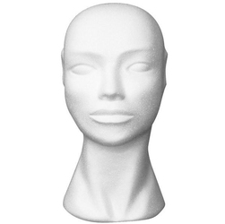 Kobieca głowa 28x20x14,5 cm - styropian