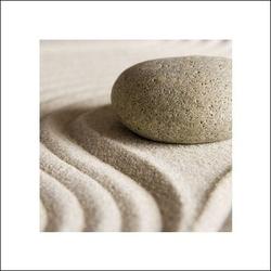 Kamienie zen - plakat premium