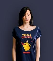 This is a coobeck t-shirt damski granatowy s