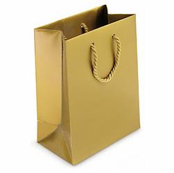 Torba lakierowana złota 540x460x150 - wyprzedaż