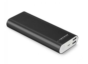 Esperanza POWER BANK 10000MAH PROTON CZARNY