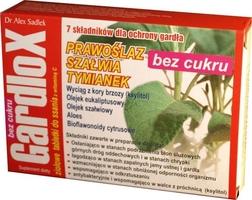 Gardlox x 16 tabletek do ssania ziołowe bez cukru